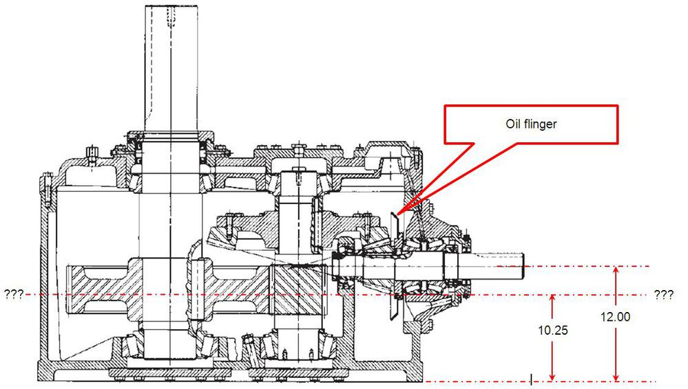cooling tower gearbox wear