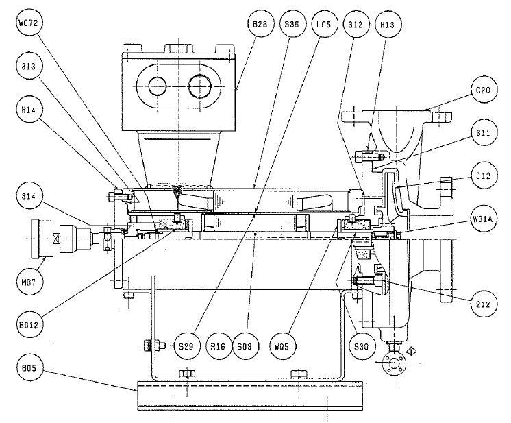 canned motor pump diagram   25 wiring diagram images